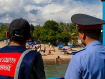 На Иссык-Куле ДНД помогает милиции обеспечивать порядок