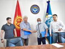 Мэрия Бишкека подписала договор о поставке эко-автобусов