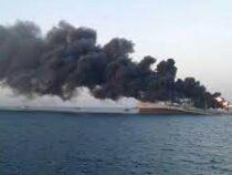 В Персидском заливе затонул один из крупнейших кораблей ВМС Ирана