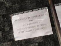 Киевский маршрутчик насмешил условиями перевозки: без маникюра и наращенных ресниц