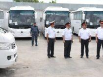 Бизнес и МВД предоставили свои автобусы для перевозки бишкекчан бесплатно