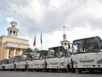В Бишкеке запустили бесплатные автобусы