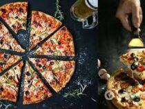 Работник пиццерии показал, как воруют куски пиццы у клиентов