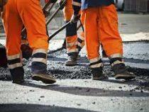 На дороге Бишкек — Ош начался ямочный ремонт