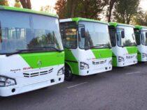 В Бишкек прибыла первая партия узбекских автобусов
