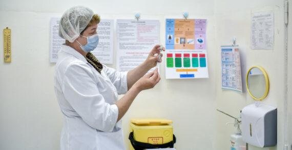 В Бишкеке развёрнуто ещё два прививочных пункта