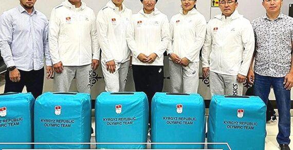 Сборная Кыргызстана поженской борьбе вылетела вТокио