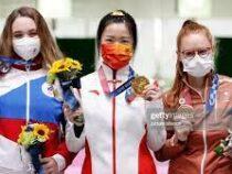 Олимпиада: первое золото завоевала китаянка, кыргызстанка не смогла выйти в финал