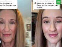 Блогерша показала, как свет мгновенно превращает пожилую женщину вдевушку
