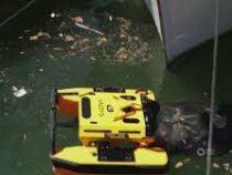 Робот чистит от мусора акватории Лазурного берега