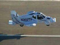 Летающий автомобиль совершил свой первый полет