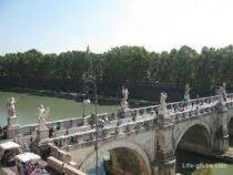 Мост по эскизам Микеланджело воссоздали в Риме