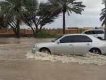 В ОАЭ из-за вызванных дождей начались наводнения