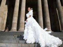 В Великобритании создали необычное свадебное платье