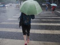 Бишкек накрыл циклон