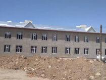 В Джети-Огузском районе строится новая школа