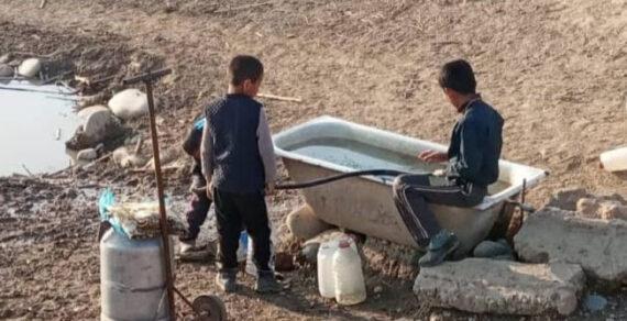 Жители Нарына остались без воды из-за подрядчиков