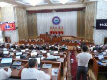 Парламент в первом чтении принял законопроект о выборах президента и депутатов