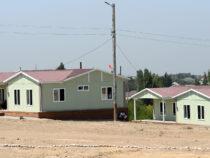 В селе Максат сданы в эксплуатацию новые жилые дома