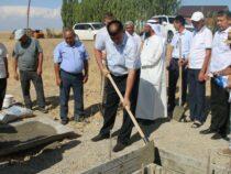 В Кара-Сууйском районе началось строительство социального городка
