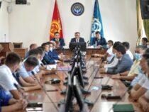 Исполняющим обязанности мэра Бишкека назначен Айбек Джунушалиев