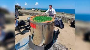 На Кубани  приготовили 1101 литр борща