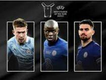 УЕФА назвал тройку претендентов на приз лучшему футболисту сезона
