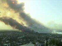 Критической назвали ситуацию сприродными пожарами вГреции