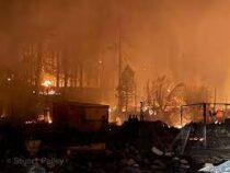 В Калифорнии пожар за два часа уничтожил 150-летний город