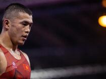 Акжол Махмудов выиграл серебряную медаль Олимпиады по греко-римской борьбе