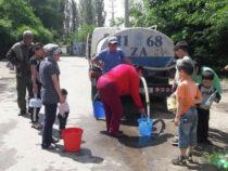 В Оше уже вторые сутки нет питьевой воды