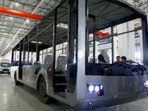 В Оше планируют завершить сборку первого электробуса
