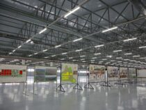 В Оше завершается первый этап строительства швейной фабрики