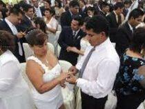 В Перу одновременно поженились 200 пар