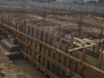 В жилмассиве «Алтын-Ордо» в Бишкеке продолжается строительство школы