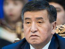 Экс-президент Сооронбай Жээнбеков допрошен по «делу Кумтора»