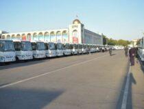 В Бишкек доставили 210 новых автобусов