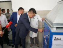 В Чуйской области открылся завод жидкого азота