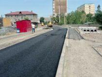 В Бишкеке открыли для проезда отрезок улицы Армейской
