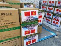 В Кыргызстан прибыл очередной груз из Китая