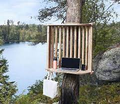 В Финляндии создают офисы на деревьях