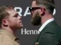 Фальстарт: дуэль взглядов между звездами бокса закончилась дракой