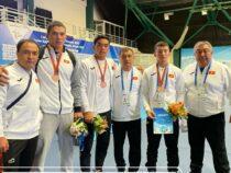Борец Нурманбет Раймалы уулу завоевал золотую медаль на I Играх стран СНГ