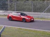 Автомобиль Tesla установил скоростной рекорд