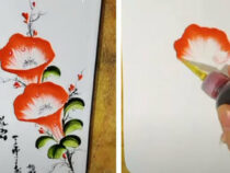 Мастерица рисует картины, наполненные не только красотой, но и сладким вкусом