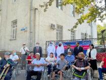 Более 70 людей с инвалидностью в Чуйской области получили коляски
