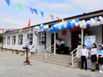 В школе «Ак-Тилек» Кеминского района открыли дополнительный корпус