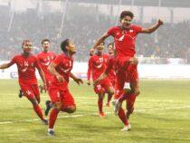 Сборная Кыргызстана обыграла команду Бангладеш и стала победителем Кубка трех наций