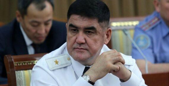 В Бишкеке задержали бывшего замминистра внутренних дел
