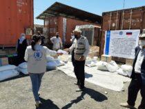 Россия подарила свыше тысячи тонн муки нуждающимся семьям в Кыргызстане